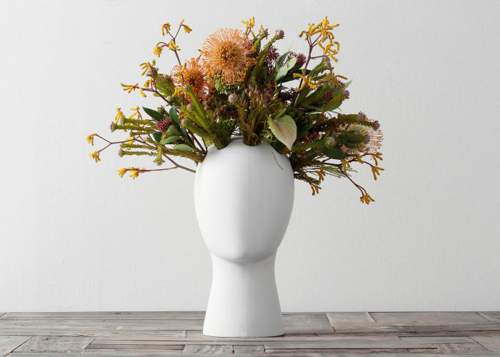 "Our Unique Vase Will Put The End To Your Interior's ""Bad Hair Day"""