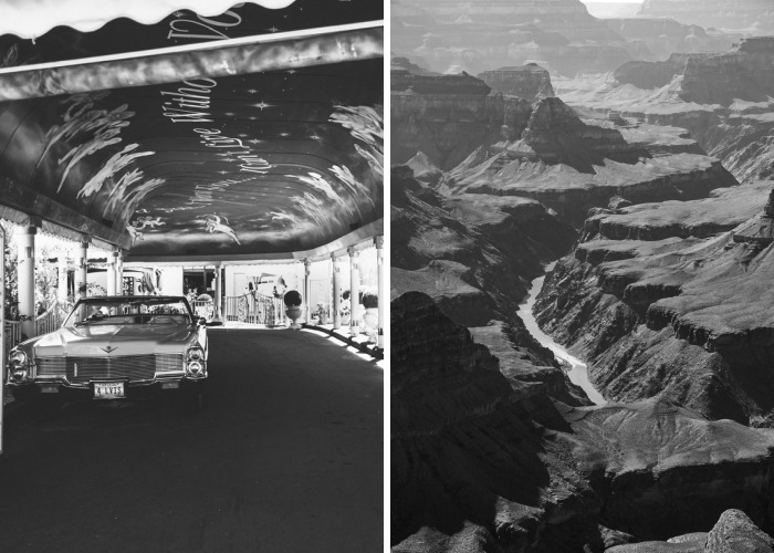 Monochrome View On My Usa Roadtrip
