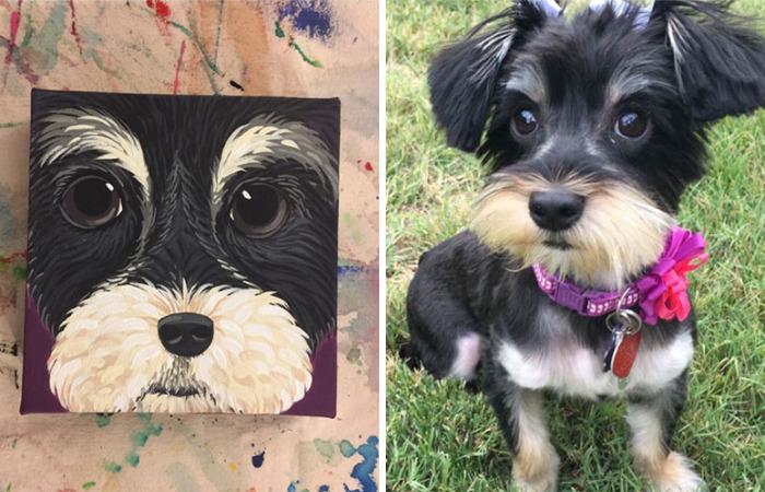 I Paint Caricature Pet Portraits