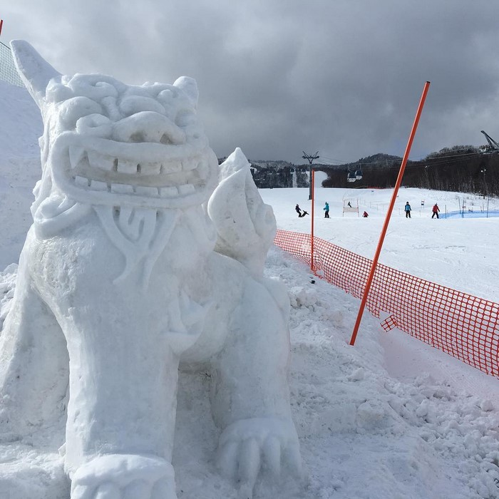Creative Snow Sculptures