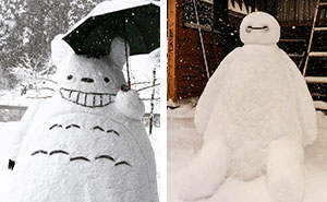 What Happens When Heavy Snowfall Hits Japan
