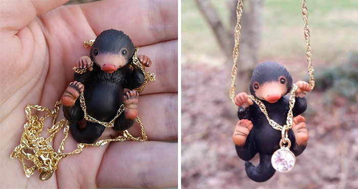 This Niffler Necklace Is What Every Fantastic Beasts Fan Needs
