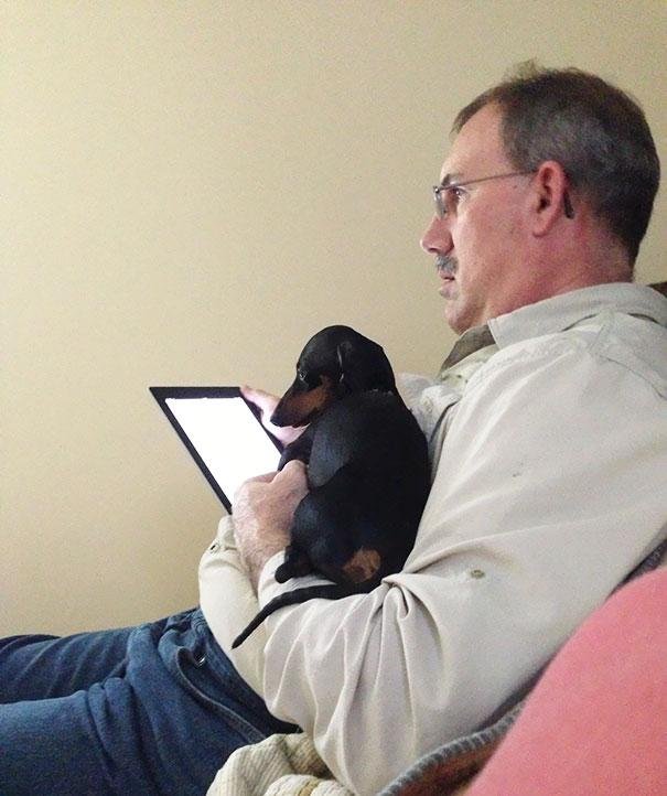 My Dad Said He Didn't Want An iPad Or A Dog