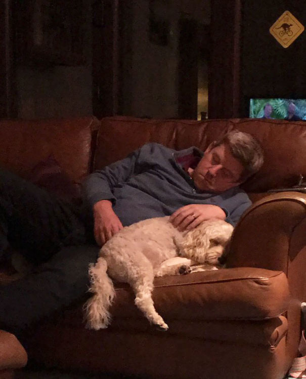 My Dad Didn't Want A Dog. I Think He Likes Him Now