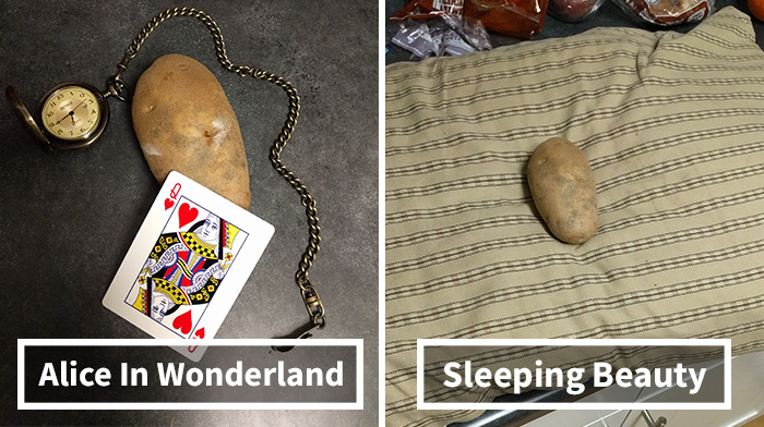 Somebody Reimagined Disney Princesses As A Potato, And The Likeness Is Uncanny