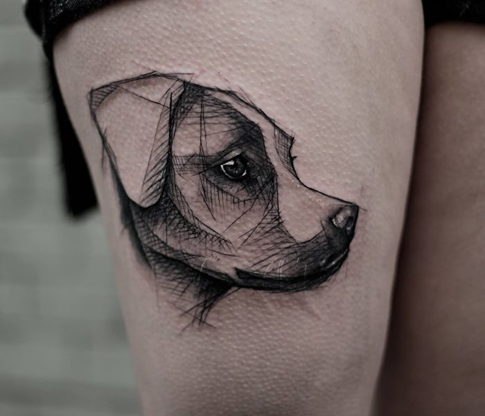 294 Of The Best Dog Tattoo Ideas Ever Bored Panda