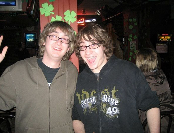 Found My Doppelganger, Bought Him A Jager And Got This Photo Op.