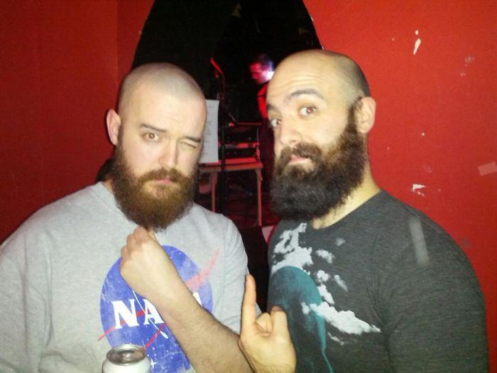 It's Always An Interesting Night When You Randomly Run Into A Beard Doppelganger