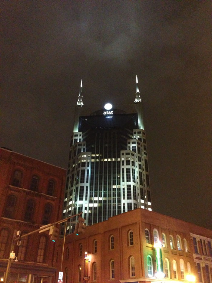 At&t Building, Nashville, Tennessee, Usa