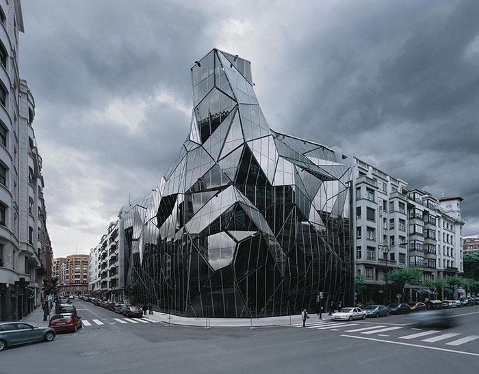 Basque Health Department Headquarters In Bilbao, Spain