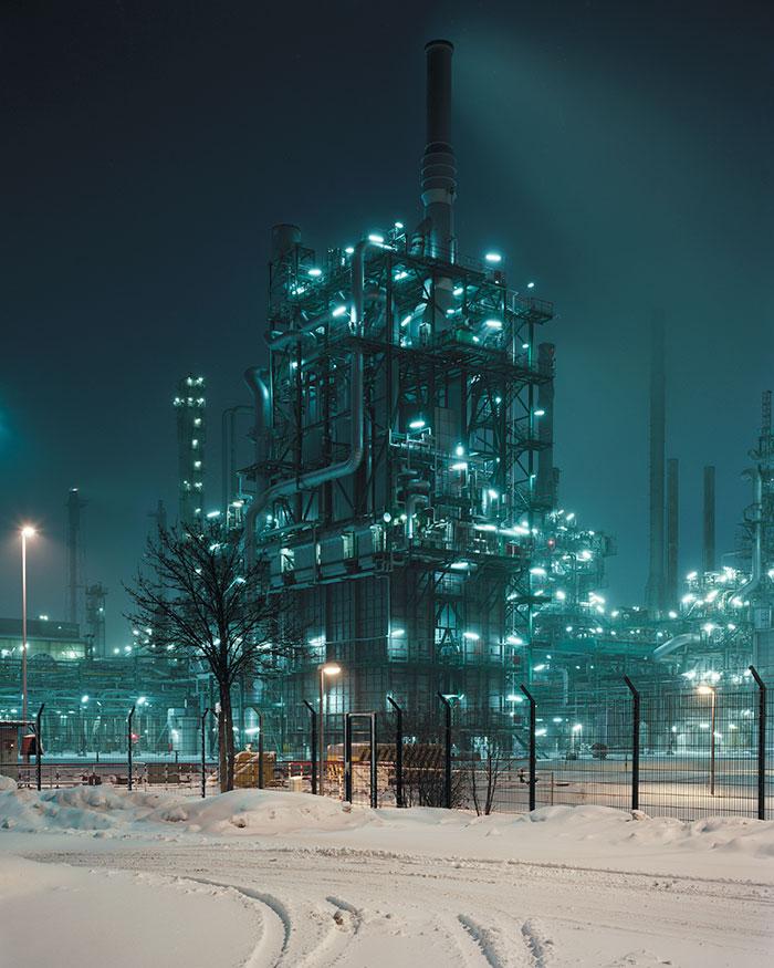 Omv Borealis Refinery, On The German/Austrian Frontier