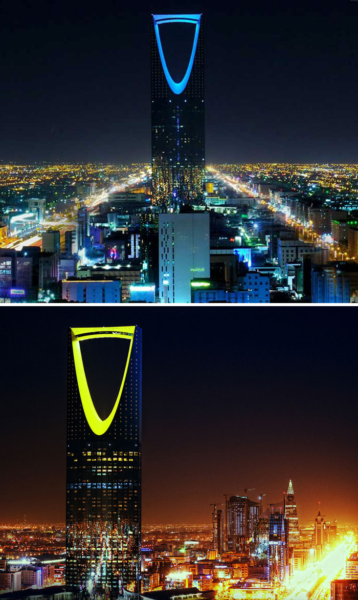 Kingdom Centre, Riyadh, Saudi Arabia