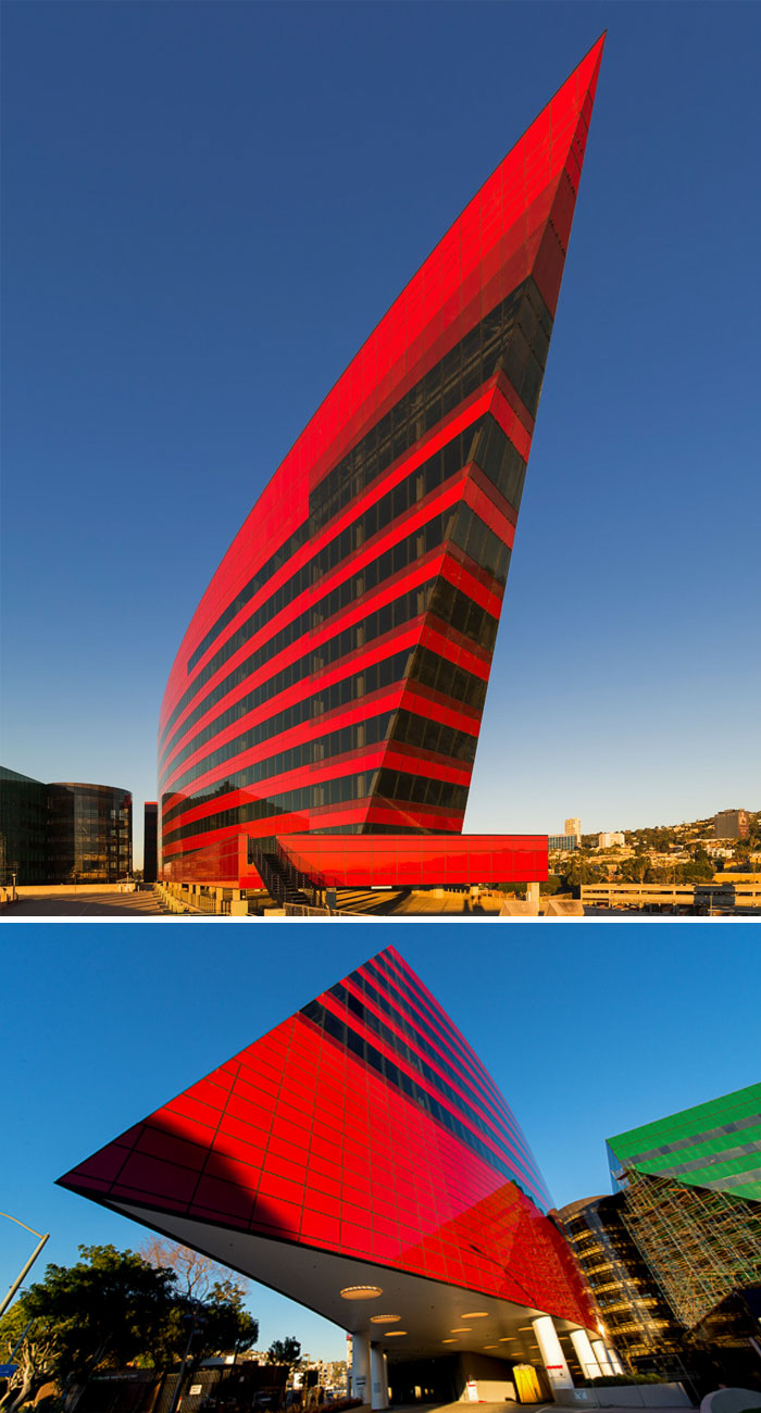 Pacific Design Center, Red Building, Hollywood, California, USA