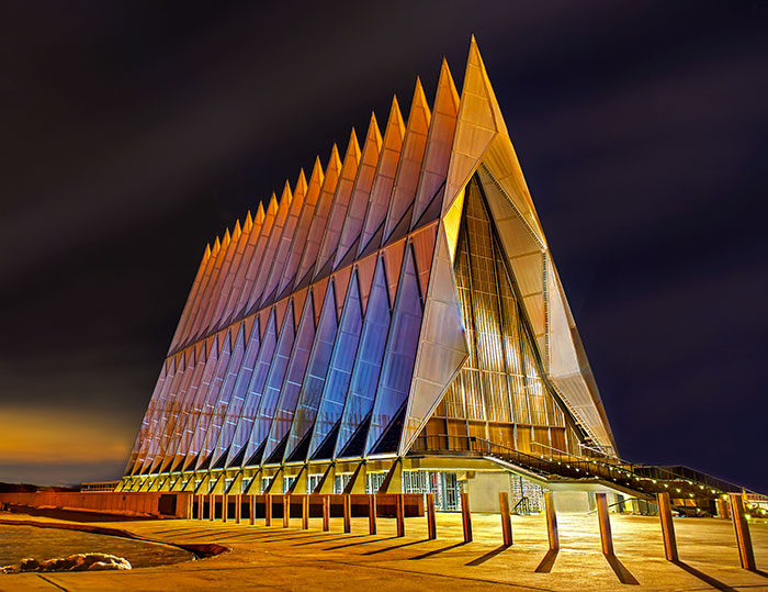 The United States Air Force Academy, Colorado, USA