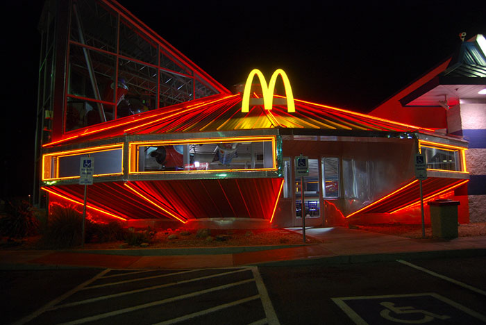 Mcdonald's, Roswell, New Mexico, USA