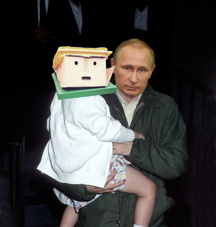 Meet Trumpin - Putin's New Baby