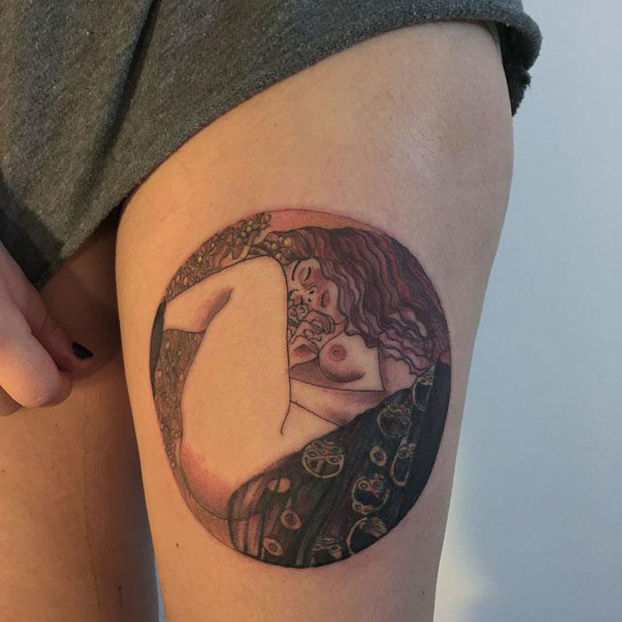 Danaë, Gustav Klimt