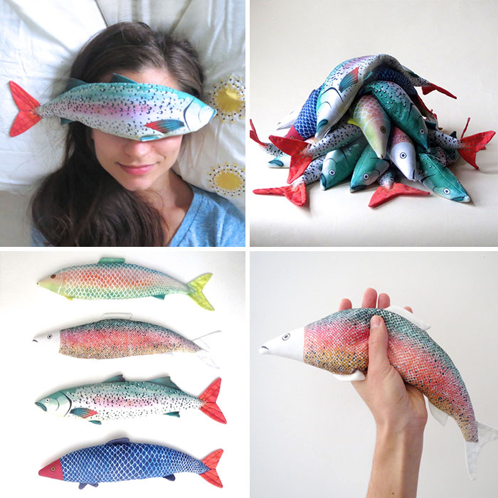 Fish Eye Pillows Is What You Need After A Hard Day