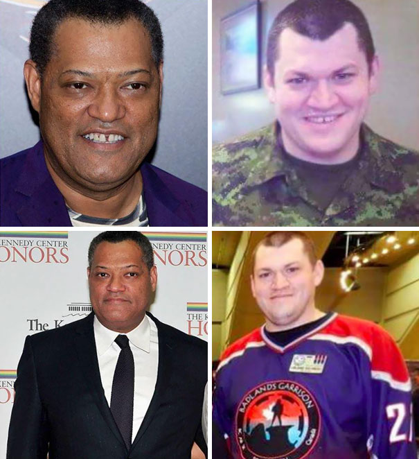 White Laurence Fishburne