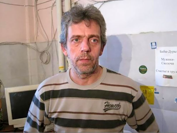 Russian Plumber Hugh Laurie