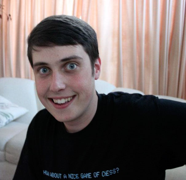 I Look Like A Male Version Of The Overly Attached Girlfriend Meme