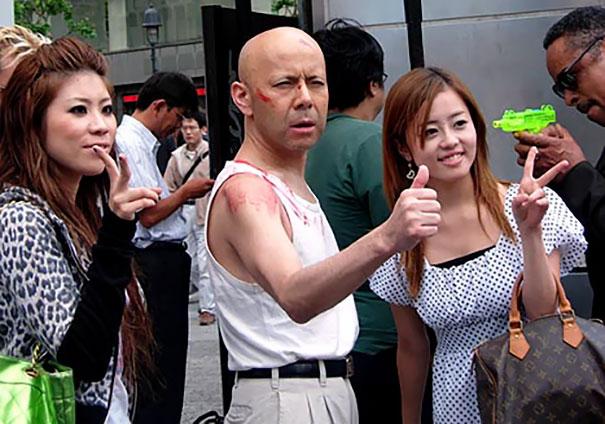 Japanese Bruce Willis