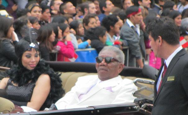 Peruvian Morgan Freeman