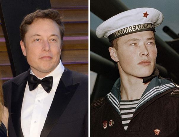 Elon Musk's Russian Doppleganger