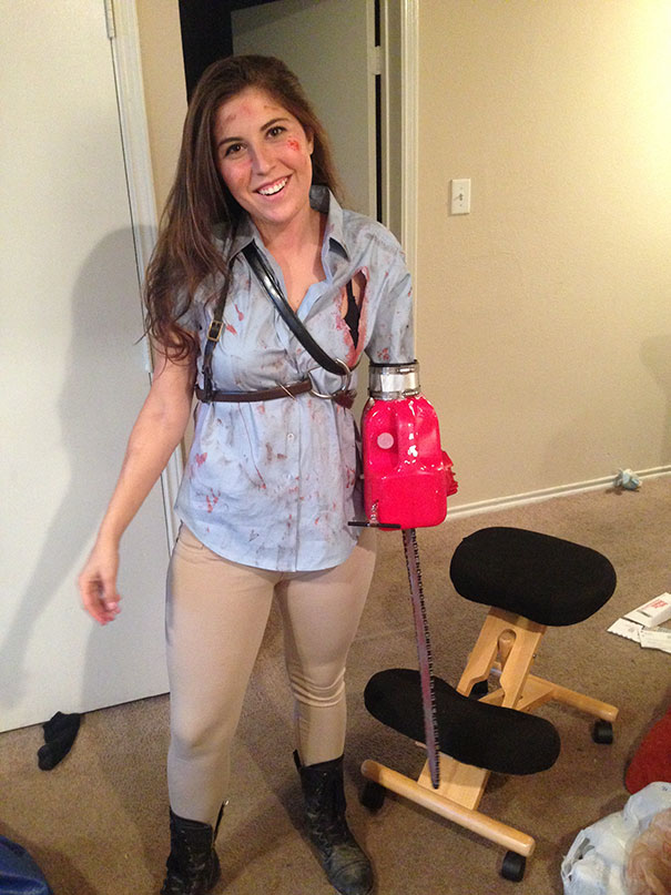 Amputee Girl Army Of Darkness Costume