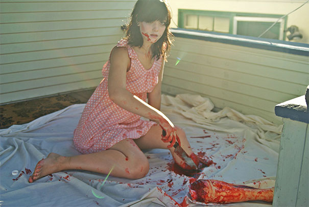 Crazy Things You Can Do With A Lil' Fake Blood And One Leg