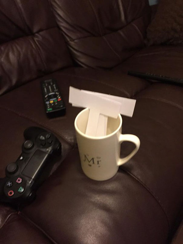 Wife Asked Me If I Wanted A Cup Of Tea, I Said Yes Please This Is What I Got... She Thinks She's So Funny