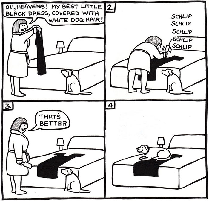 94 Hilarious Comics About Life With Dogs By Off The Leash""""