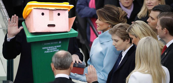 Swearing In Of The Rubbish™