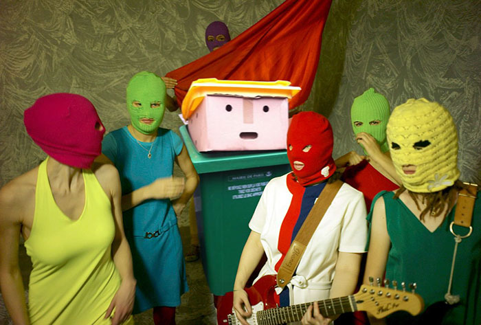 Pussy Riot Hire Shock New Member
