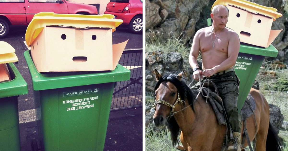 Bin que se ve como Donald Trump inspira la mayor Batalla de Photoshop alguna vez (10 + fotos)
