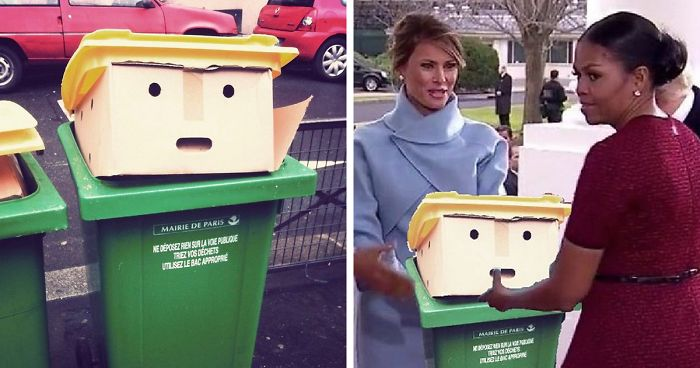 Bin That Looks Like Donald Trump Inspires The GREATEST Photoshop