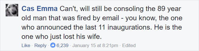 Trump Inauguration Excuses