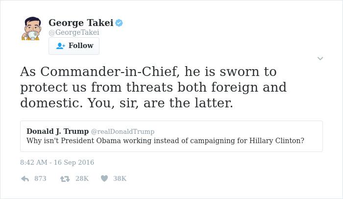 George Takei Comebacks