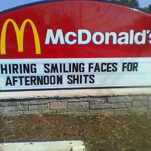 Mcdonald's Is Always Hiring
