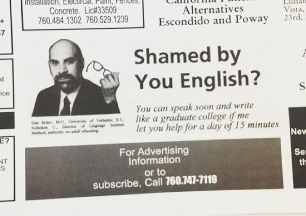 Shamed By You English?