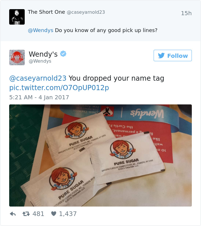 Wendy's Is Roasting People On Twitter, And It's Just Too