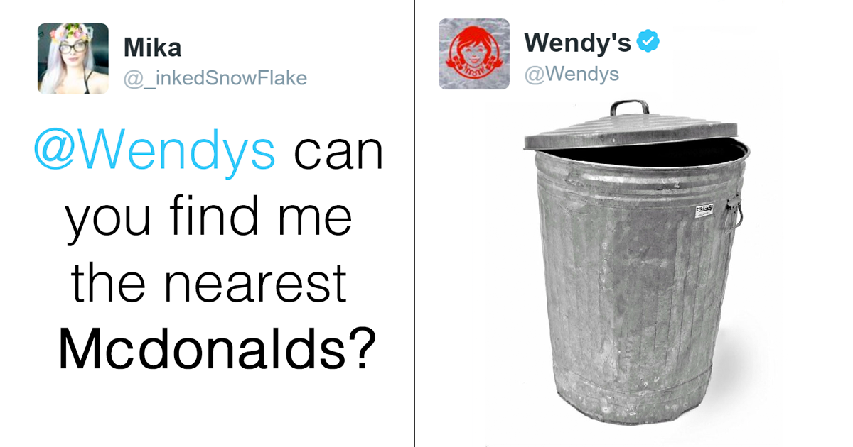 Wendys Is Roasting People On Twitter And Its Just Too Funny Bored Panda