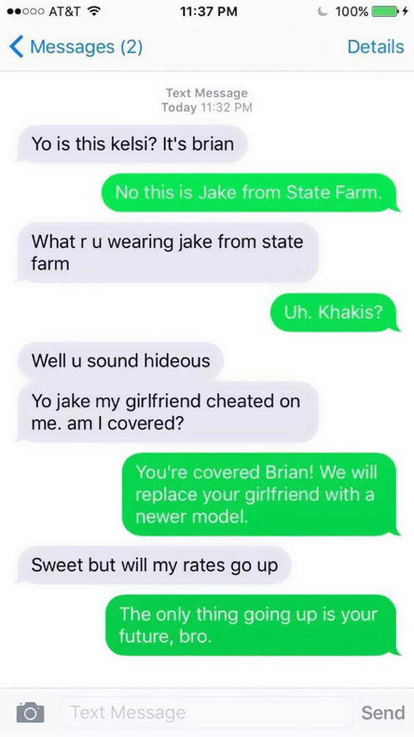 10+ Of The Funniest Wrong Number Texts Ever   Bored Panda
