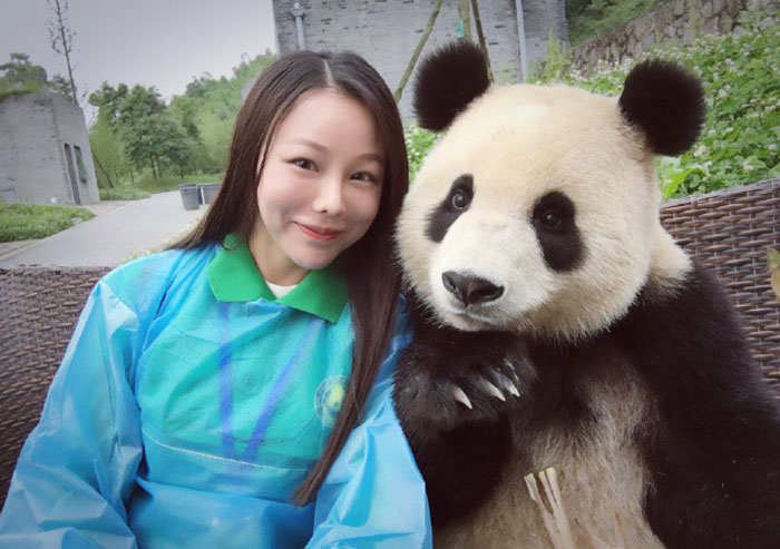 This Giant Panda Has Mastered The Selfie Game