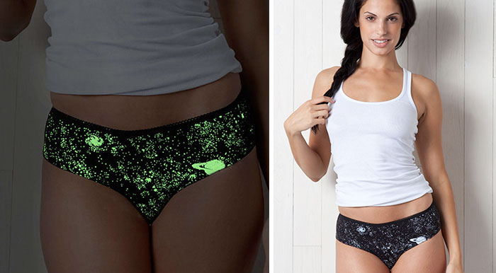 Glow-In-The-Dark Galactic Underwear