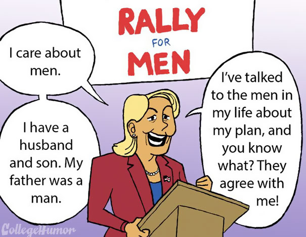 If The Government Was All-Female And Treated Men Like It Treats Women (5 Pics)