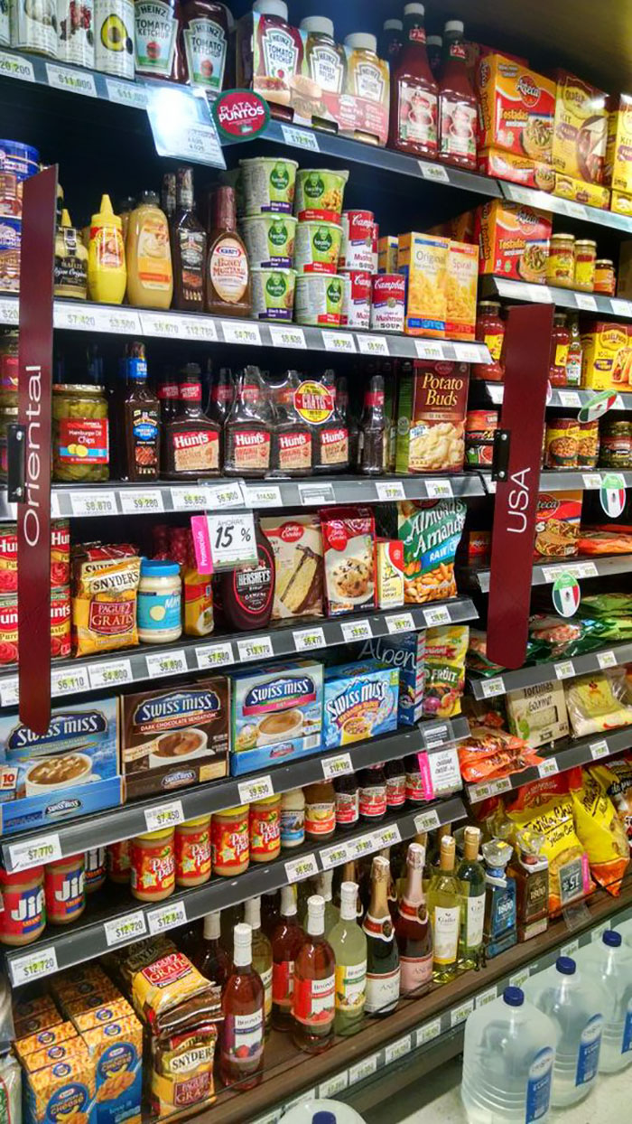 This Fancy Colombian Grocery Store Has A Section For Us Foreigners From The Usa. Hot Chocolate And Peanut Butter Ftw!