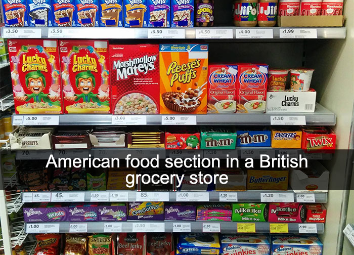 """This Is What """"American Food"""" Looks Like According To The Rest Of The World"""