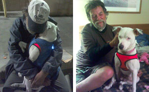 When This Woman Found A Dying Homeless Man With A Dog, He Told Her His Last Wish And It's Heartbreaking