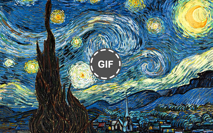 I Bring Van Gogh's Paintings To Life By Making Them Move